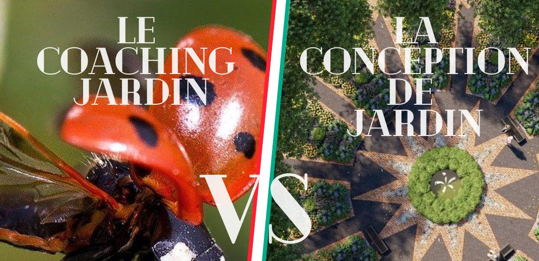 Coaching jardin VS Conception de jardin : quelle est la différence entre ces deux prestations ?